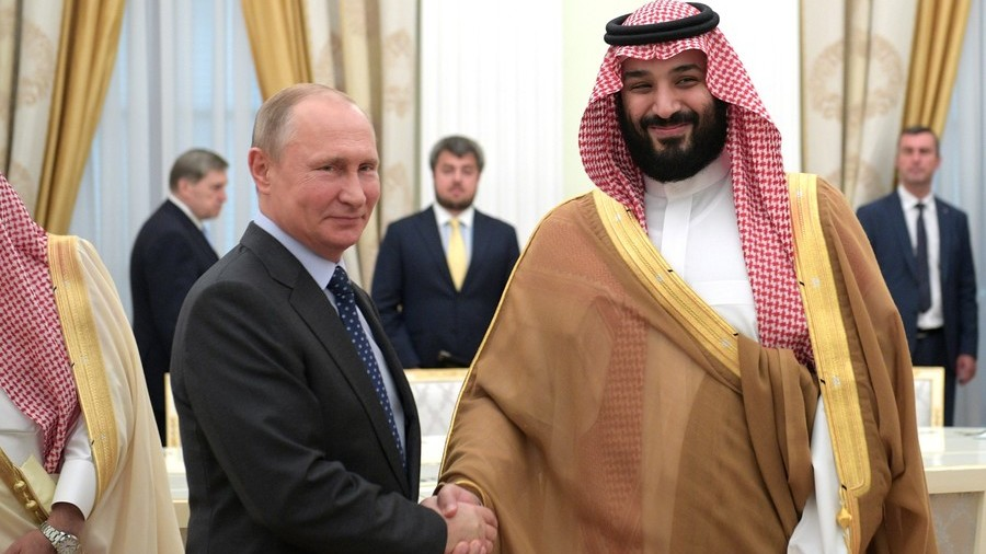 'May the strongest team win': Putin meets Saudi crown prince ahead of World Cup opener