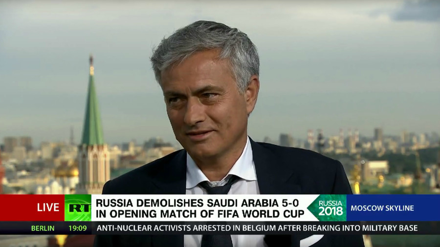 'Russia don't have reason to be super optimistic,' Mourinho warns after rout of Saudi Arabia (VIDEO)
