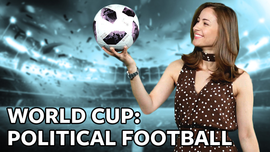 ICYMI: The World Cup in Russia has started, and some idiots still think it's about football!