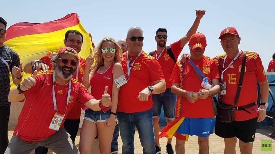 'Hotter than at home!' Sochi welcomes Spain & Portugal supporters ahead of World Cup clash
