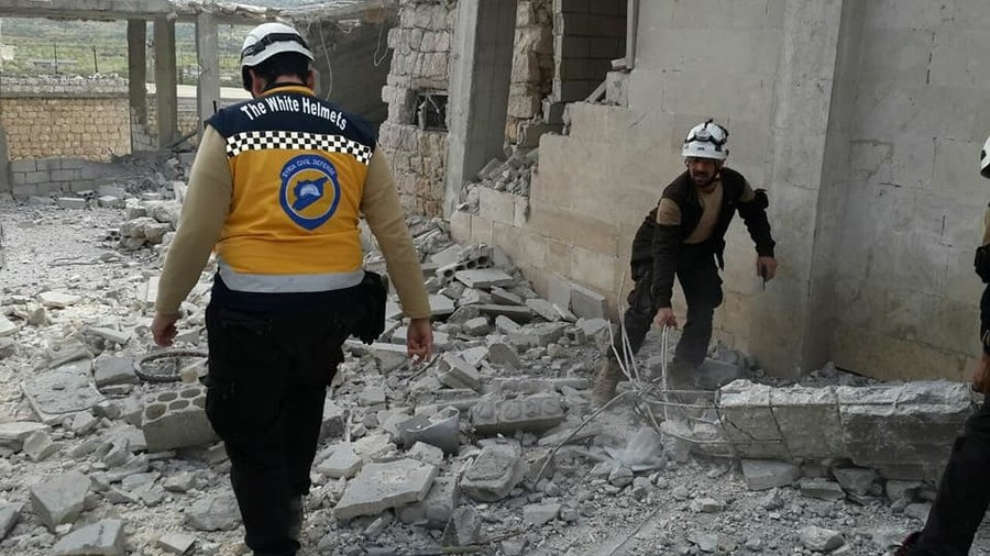 white helmets  a tool for  u2018regime change u2019 in syria that u2019s