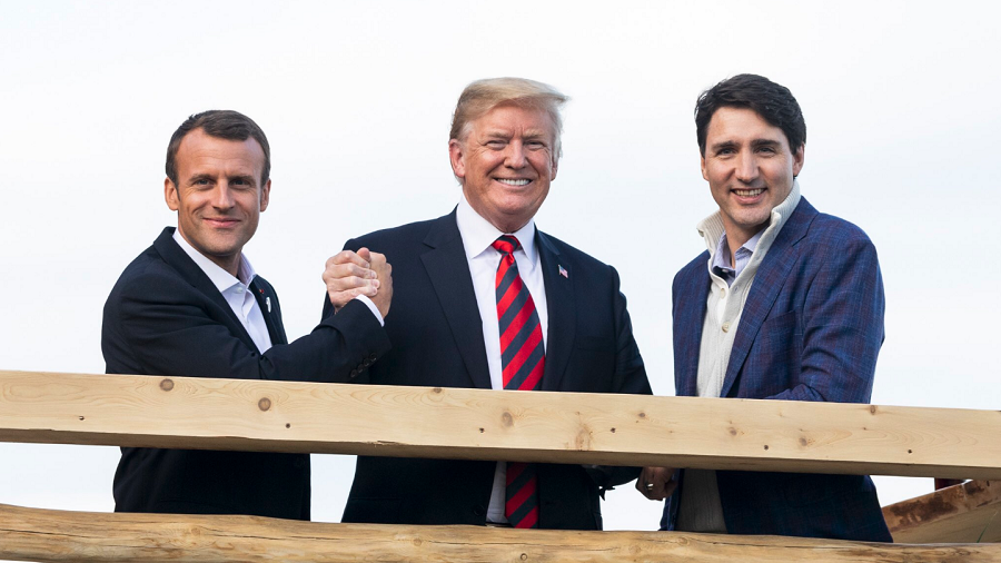 'Bad photos!' Trump blasts media for 'fake' G7 summit reporting & tweets GOOD PHOTOS