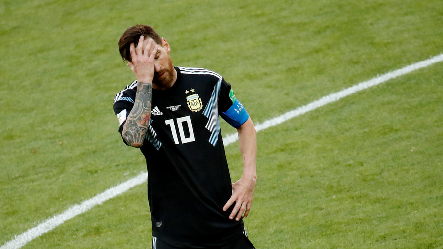 Messi fails to match Ronaldo as Iceland catch Argentina cold in Moscow