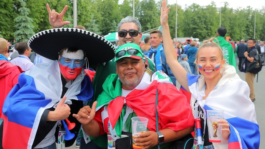 Englishman in Moscow: Politics mean nothing to thousands of fans enjoying the World Cup