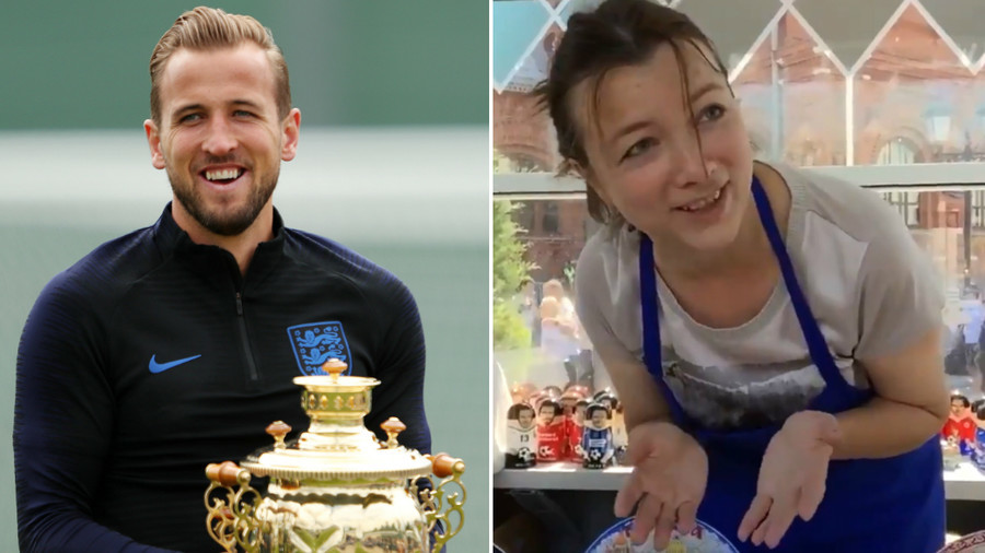 What was his father thinking?' Russian matryoshka doll-seller on Harry Kane's name