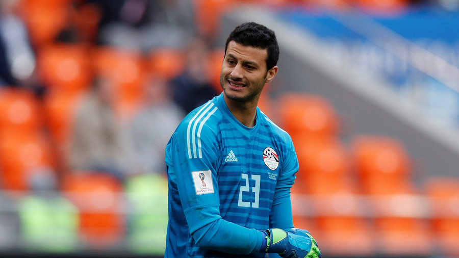 brand new b4092 354ab Egypt goalkeeper refuses World Cup man of the match award ...