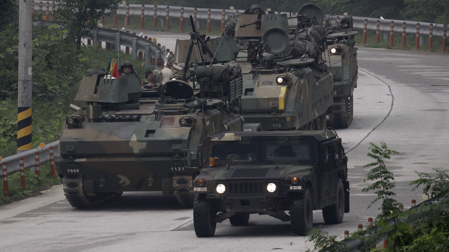 South Korea military exercises officially suspended