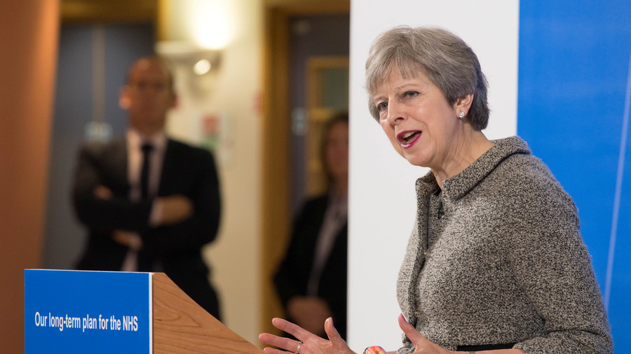 May's softball interview with ex-adviser overshadowed by claims of 'black hole' in her NHS plans