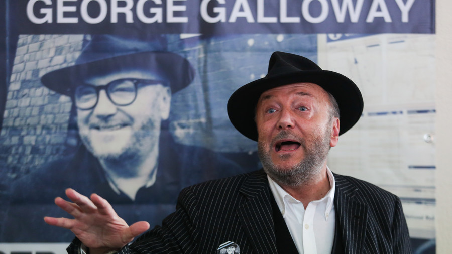 Galloway throws his fedora hat into the ring, as Question Time begins search for new presenter