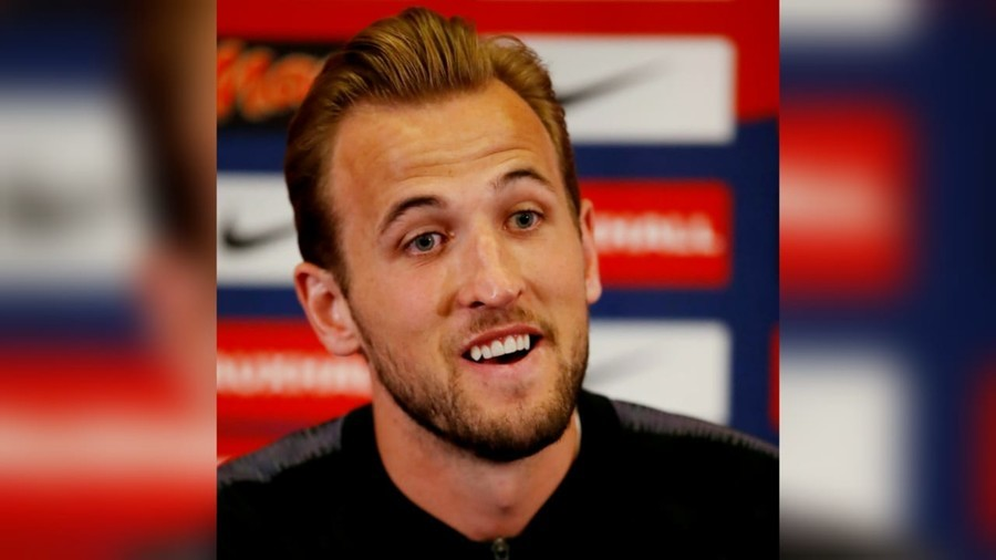 'They make me look chubby!': England hero Harry Kane on Russian dolls in his image