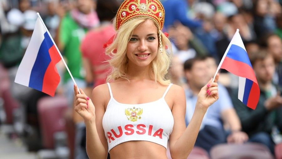 Revealed Russias Hottest World Cup Fan Turns Out To Be -9255
