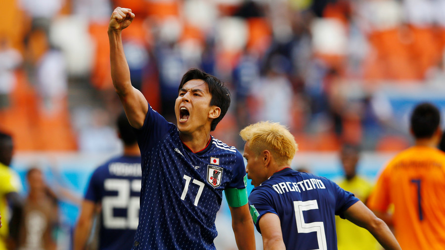 'We did it!' Japan reacts as late strike makes World Cup history