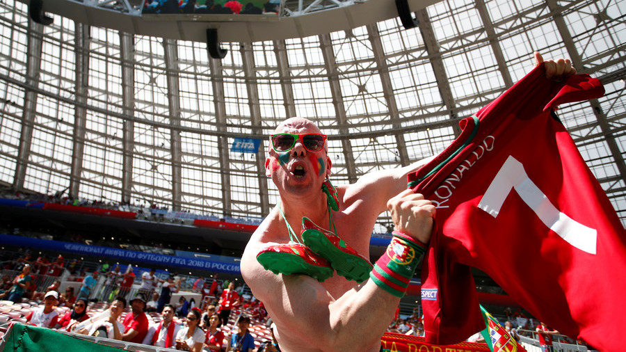 Ronaldo superfans descend on Moscow to see Portugal beat Morocco in World Cup clash