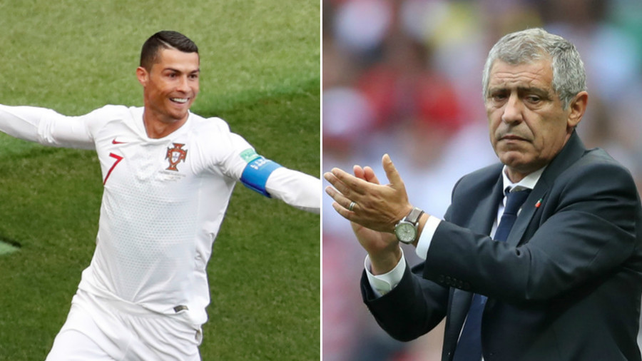 'Ronaldo is like a good port wine, he knows how to age best' – Portugal coach Santos