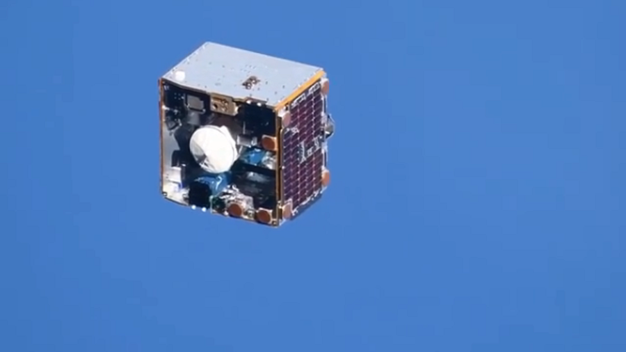 Flying suitcase v old TV set: Instagram roars with laughter over video of satellite passing ISS