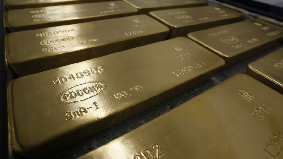 Russia gets rid of US Treasury securities and buys gold