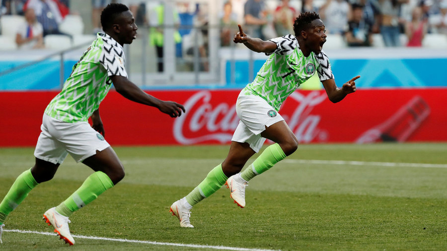 Musa secures victory for Nigeria over Iceland with beautiful brace, sets up Argentina showdown