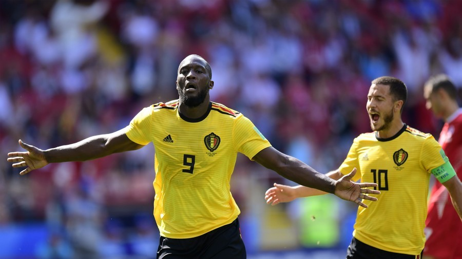 Lukaku & Hazard star as impressive Belgium cruise past Tunisia