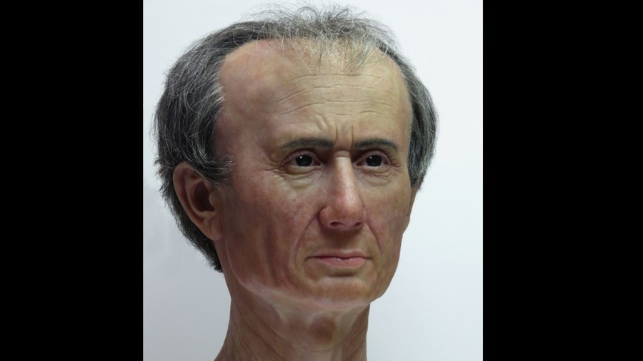 lifelike reconstruction of julius caesar reveals extraordinary head