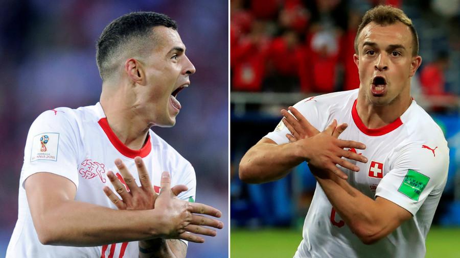 "Mondiali, la Fifa multa Xhaka, Shaqiri e Lichtsteiner per l'esultanza ""politica"""
