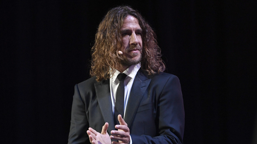 Spain World Cup winner Puyol 'barred from Iranian TV because of long hair'
