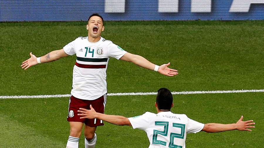 Mexico see off South Korea to continue perfect World Cup start