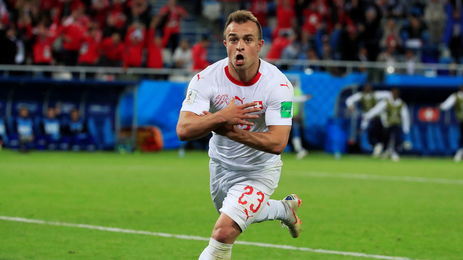 FIFA opens case against Shaqiri & Xhaka over controversial eagle celebrations