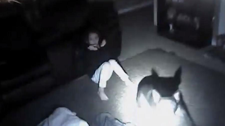 Horrifying cop bodycam shows officers shooting dog & hitting 9yo girl (VIDEO)
