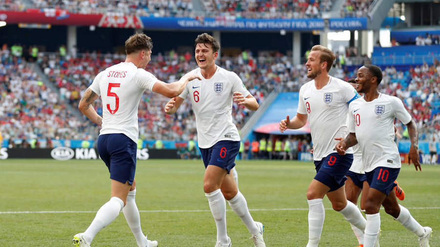 Hit for 6! Record-breaking England maul minnows Panama 6-1 to qualify for last 16