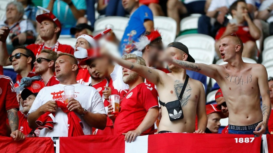 Federation Internationale de Football Association fine Danish FA for World Cup crowd disturbance and sexist banner