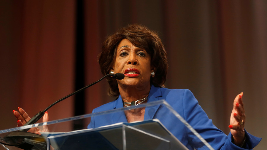 God is on our side! Maxine Waters calls on restaurants, gas stations to boo Trump admin