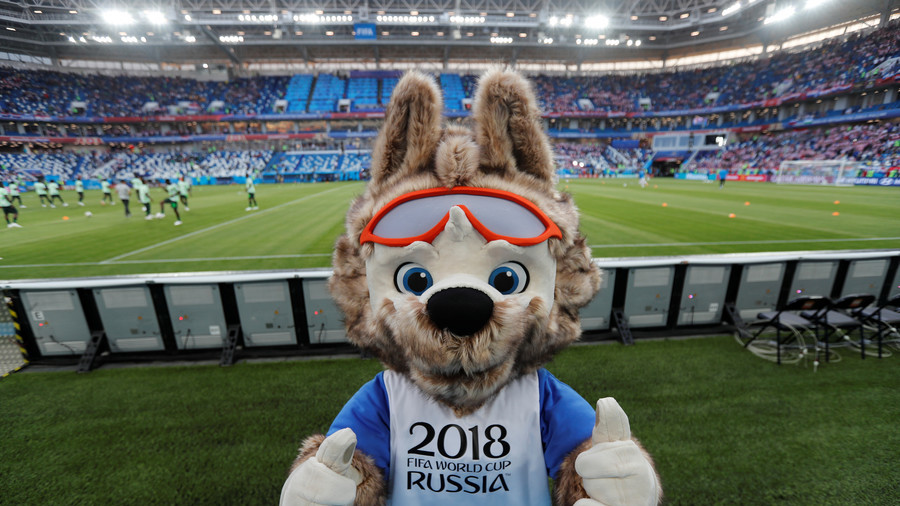 Does Russia's cuddly World Cup mascot have a 'hooligan link'? - ESPN's coverage scrapes the barrel