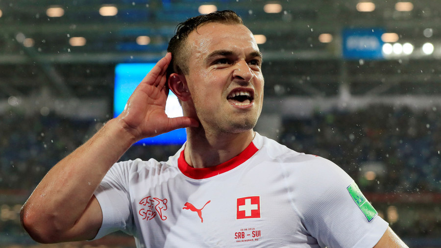No FIFA ban for Shaqiri & Xhaka over eagle celebrations in Serbia game