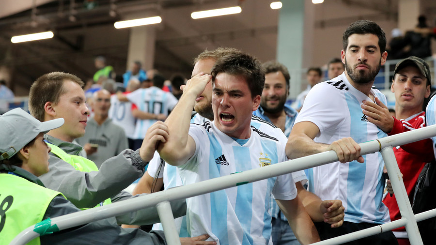 FIFA fines Argentina $105k for homophobic chants & fights at World Cup match