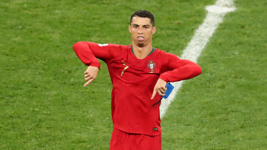 'He should have walked!' Fury at Ronaldo red card let-off
