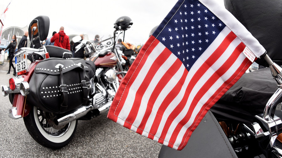 Pres. Trump threatens Harley-Davidson with taxes