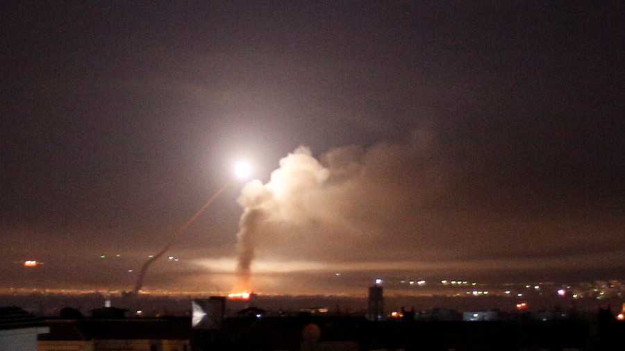 Israeli missiles strike near Damascus airport, Syrian state media claims