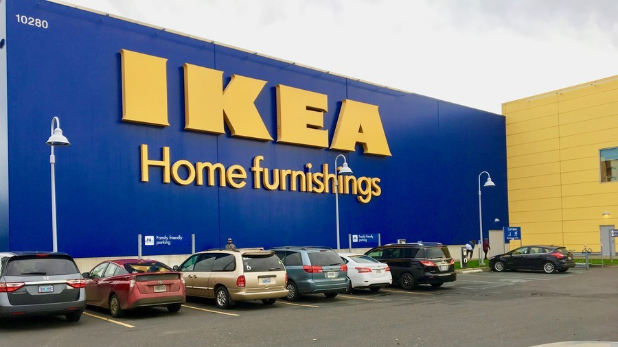 Child fires gun found inside couch at Ikea store