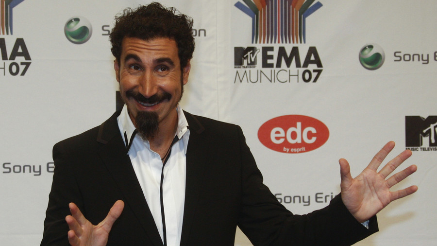 System of a Down frontman Serj Tankian calls for 'peaceful revolution' in US to dethrone Trump