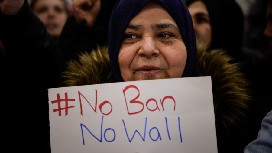 Communities react to travel ban