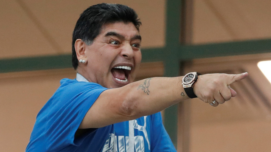 Mexicano Maradona?: Argentina icon declares his support for 'El Tri'