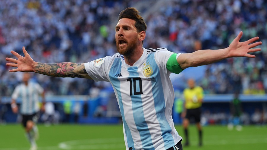 The goat breaks his duck! Messi scores first World Cup 2018 goal