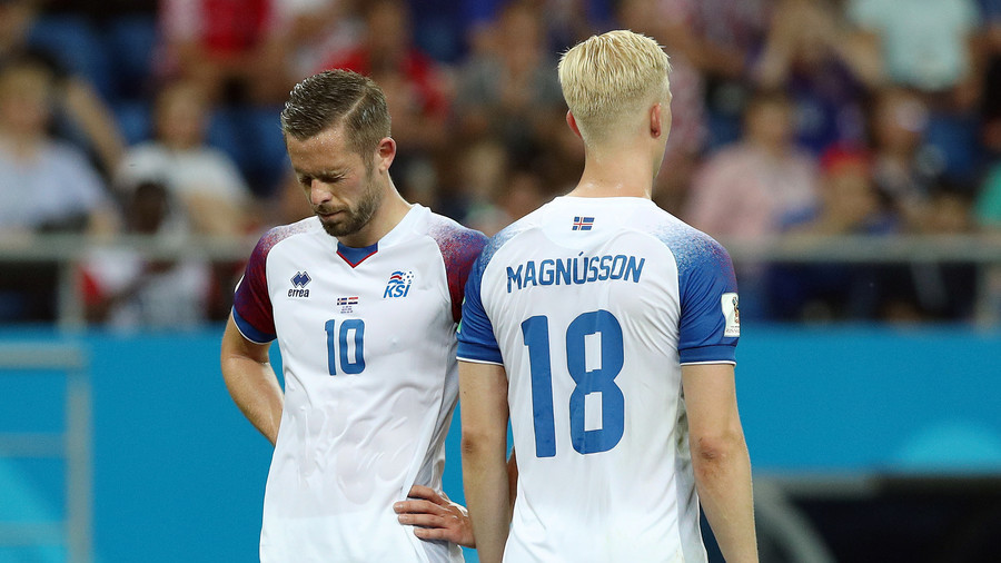 Iceland eliminated despite spirited display in loss to Croatia in Rostov