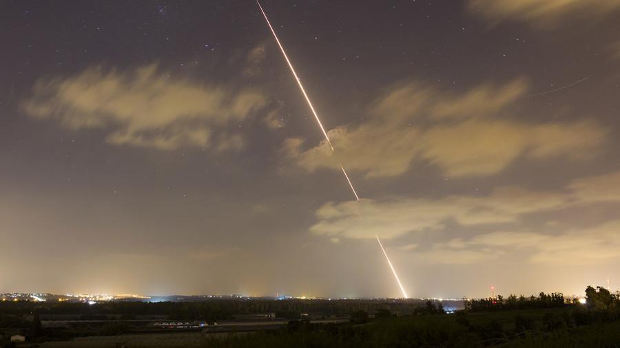 Israel pounds targets in Gaza, intercepts Hamas missiles