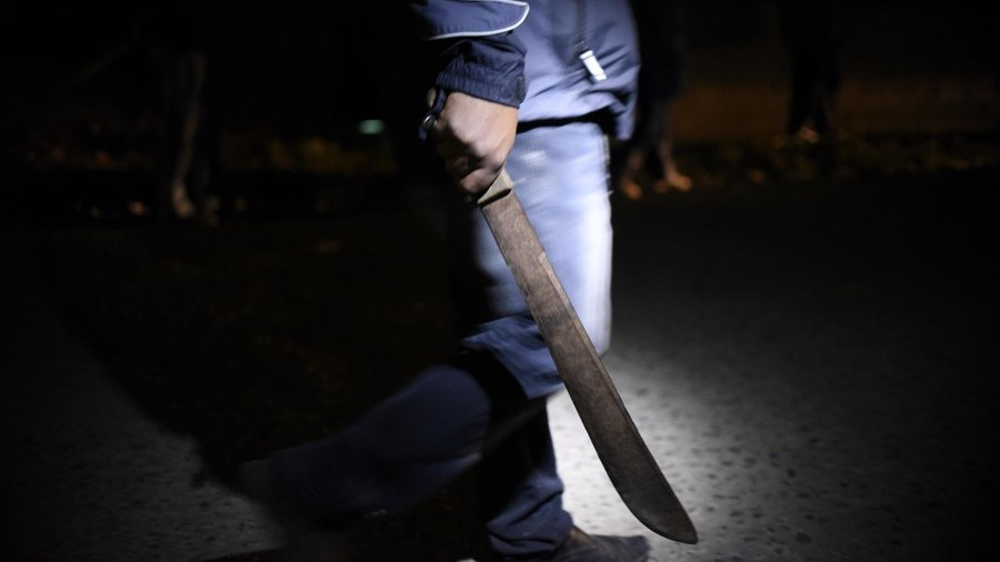Machete-wielding woman 'forces' ex to have sex