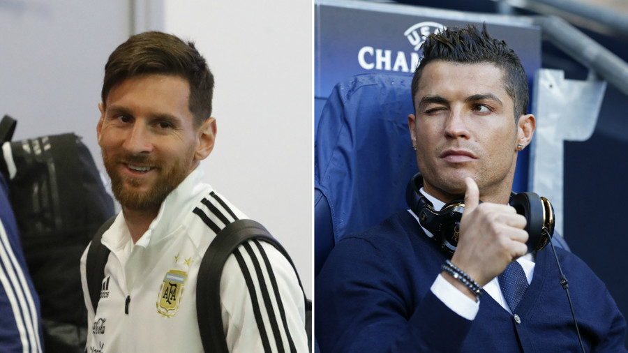 Messi to be faced with winking Ronaldo mural ahead of France clash