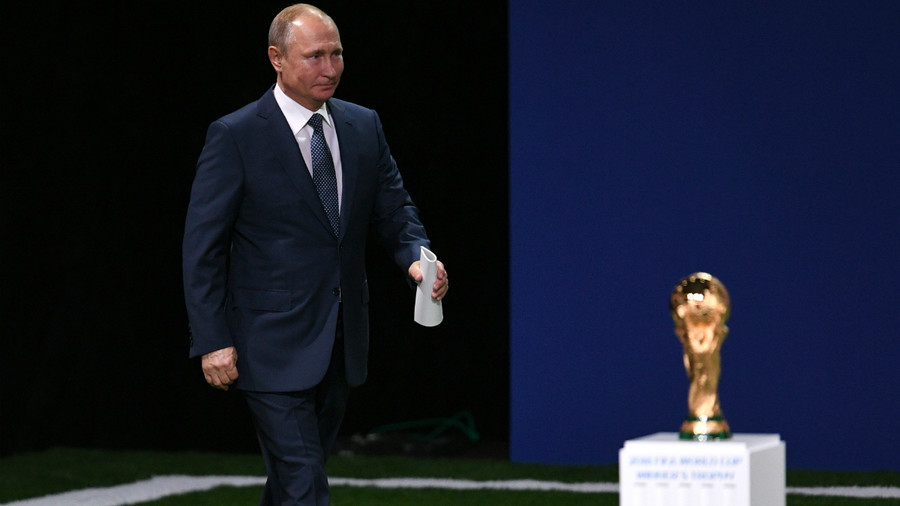 'I'll be watching Russia v Spain' – Putin might attend hosts' next World Cup match