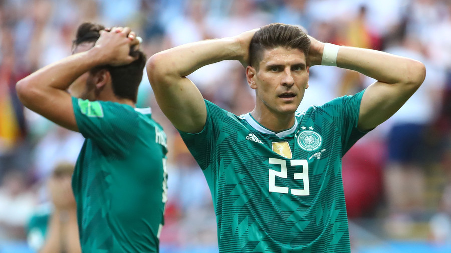Holders Germany crash out of World Cup after South Korea claim late victory in Kazan