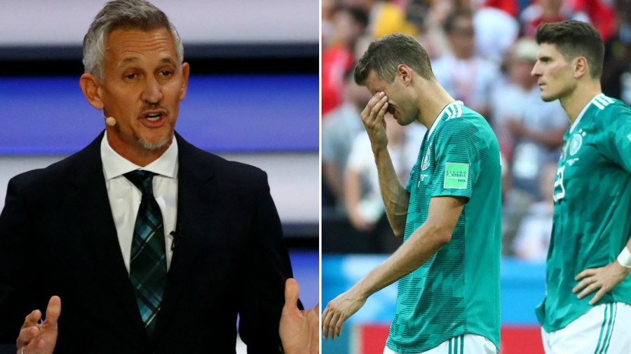 'The Germans no longer always win': Lineker in latest rework of quote after shock exit