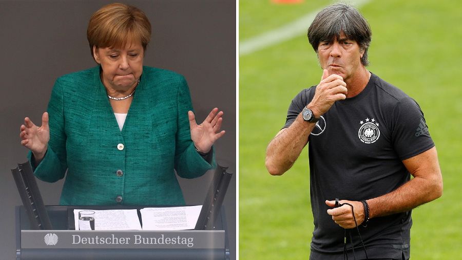 New Loew for Merkel: Strange parallels in politics & football after Germany's World Cup disaster